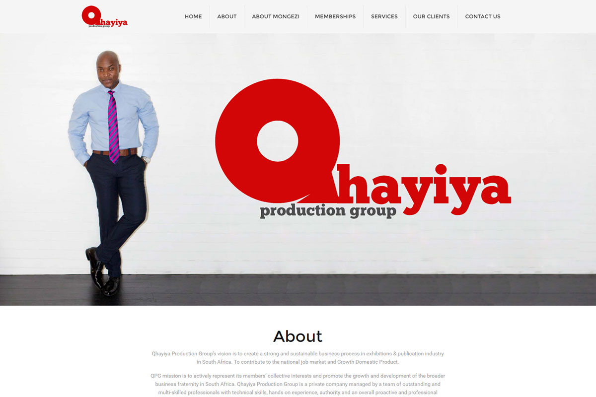 Qhayiya production group design connection for Top 10 product design companies